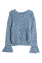 Knitted jumper - Grey-blue - Ladies | H&M 2