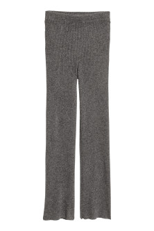 Pantaloni pull-on in cashmere