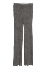 Pull-on cashmere trousers - Dark grey marl - Ladies | H&M CN 2