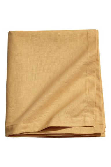 Cotton tablecloth - Dark yellow - Home All | H&M GB