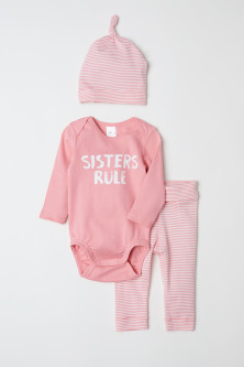 Jersey baby set
