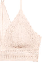 Lace bralette - Light beige - Ladies | H&M 3