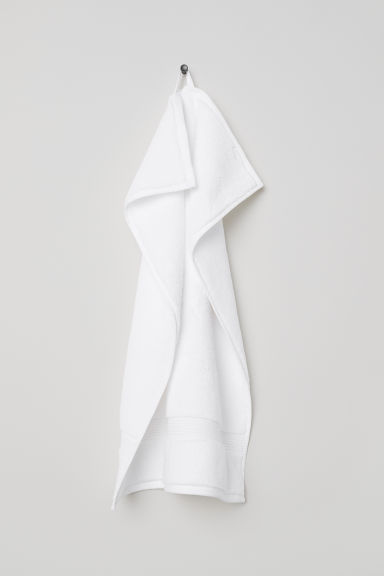 Serviette en coton - Blanc - HOME | H&M BE