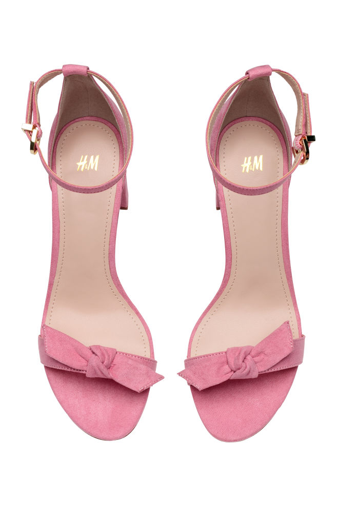 Sandals - Light pink - Ladies | H&M IN 2