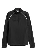 Windproof running top - Black - Men | H&M IE 2