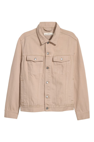 Denim jacket - Beige -  | H&M