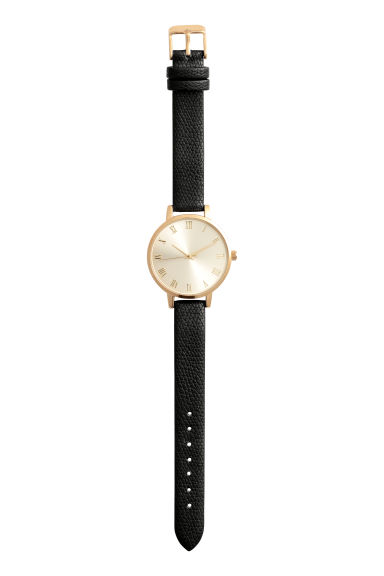 Watch - Black/Gold-coloured - Ladies | H&M