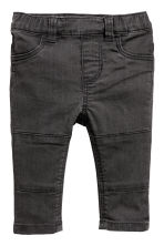 2-pack denim leggings - Denim blue/Black - Kids | H&M CN 3