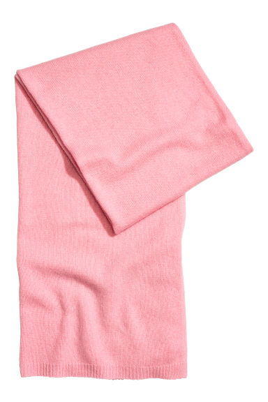 Cashmere scarf - Pink -  | H&M