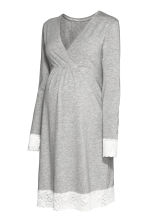 MAMA Nightdress - Grey marl - Ladies | H&M IE 1