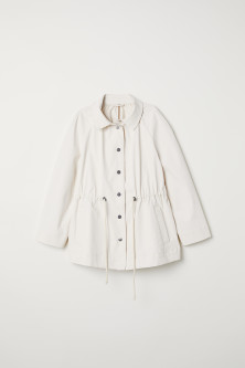 Coated cotton jacket