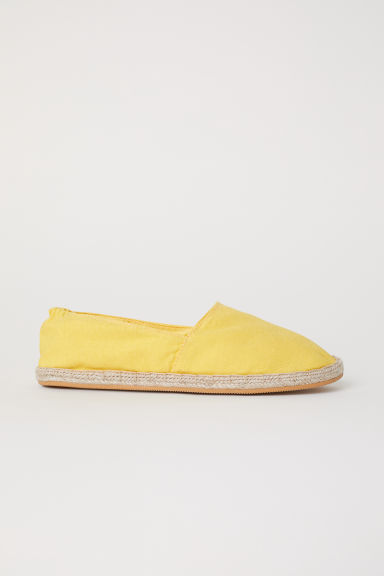 Espadrillas - Giallo - DONNA | H&M IT
