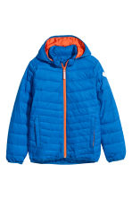 Padded lightweight jacket - Bright blue - Kids | H&M CN 2