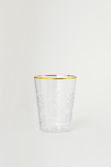 Textured Beverage Glass