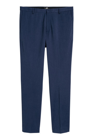 Suit trousers Super skinny fit - Dark blue - Men | H&M