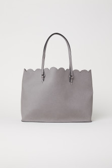 Scalloped-edge Shopper