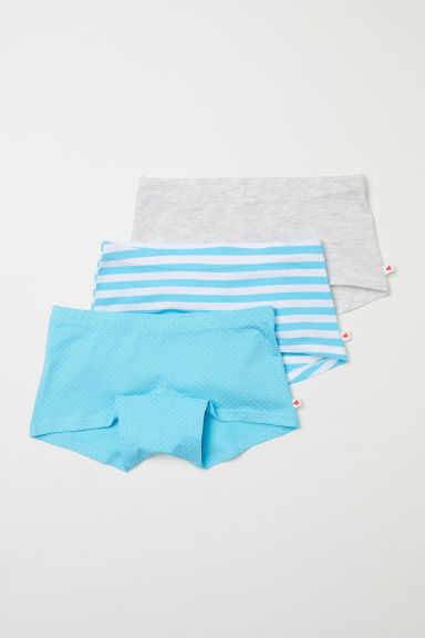 3-pack boxer briefs - Turquoise - Kids | H&M CN