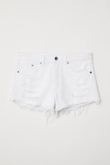 Denim shorts Skinny Regular