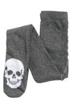 2-pack fine-knit tights - Black/Skeleton -  | H&M 2