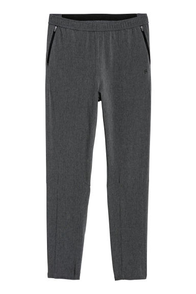 Thin sports trousers - Dark grey -  | H&M