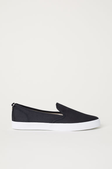 Slip-on sneakers - Zwart -  | H&M BE