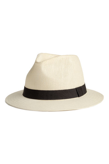 Straw hat - Natural white - Kids | H&M CN