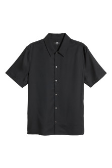 Lyocell shirt Regular fit