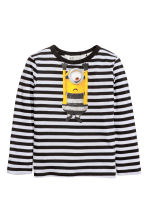 2-pack jersey tops - Grey/Minion - Kids | H&M CN 4
