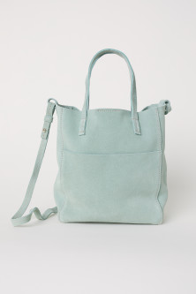 Small Suede Shopper