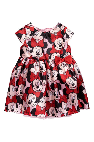 Patterned dress - Red - Kids | H&M CN