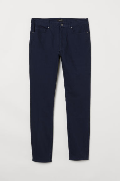 Twill trousers Skinny fit Model
