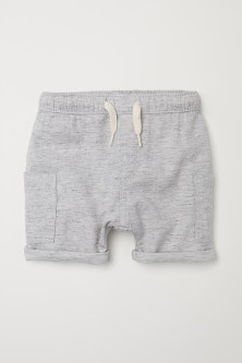 Cotton-blend shorts