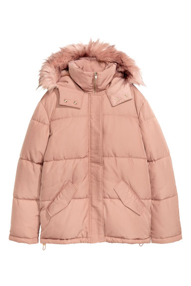 Padded jacket - Powder pink -  | H&M