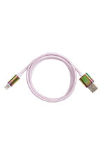 Charging cable - Light purple - Ladies | H&M 1