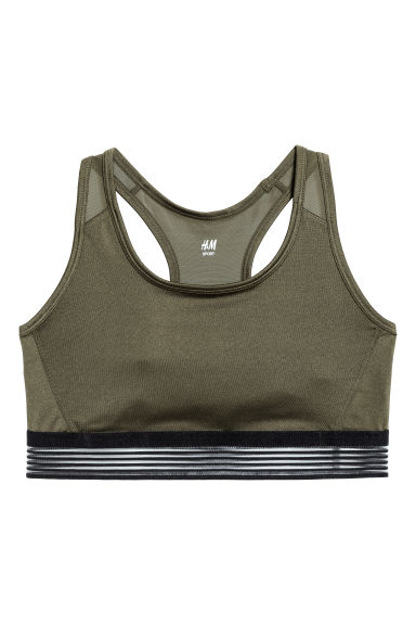 H&M+ Sports bra Medium support Model