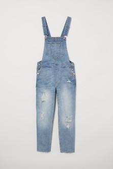 Denim salopette