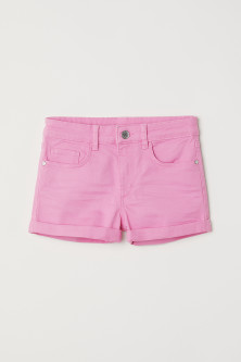 Generous Fit Twill shorts