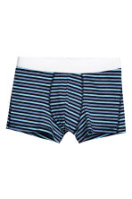 3-pack trunks - Dark blue/Multicoloured - Men | H&M GB 4