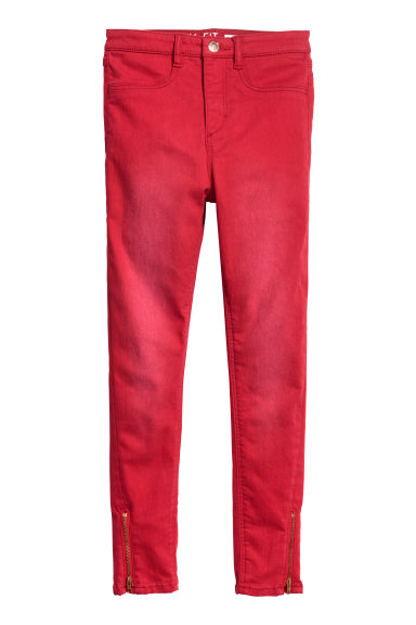 Pantalon super stretch - Rouge - ENFANT | H&M BE