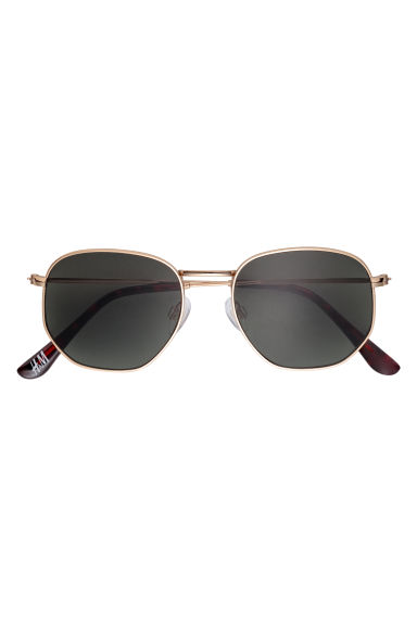 Sunglasses - Gold-coloured - Men | H&M GB