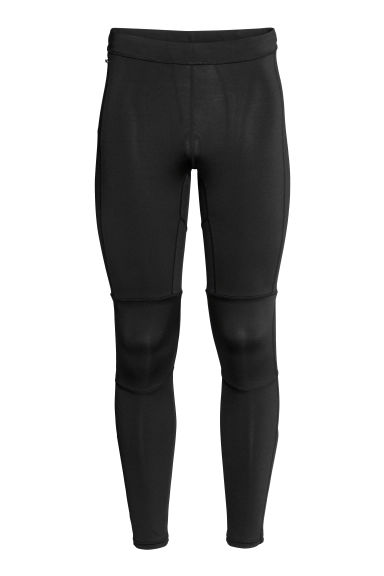 Leggings da running - Nero/riflettente -  | H&M IT