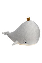 Large soft toy - Grey/Whale - Home All | H&M IE 1
