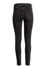Skinny High Ankle Jeans - Black denim -  | H&M 4