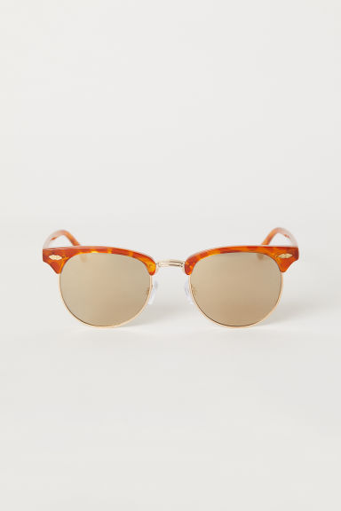 Sunglasses - Orange/Mirrored - Ladies | H&M CN