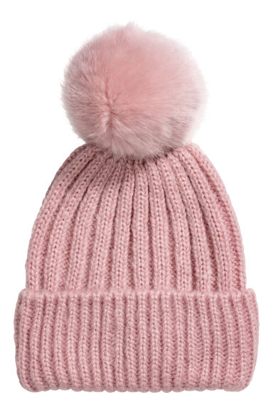 Pompom hat - Old rose -  | H&M