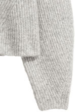 Knitted jumper - Light grey marl - Ladies | H&M CN 3