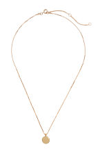 Necklace with a pendant - Gold-coloured - Ladies | H&M GB 1