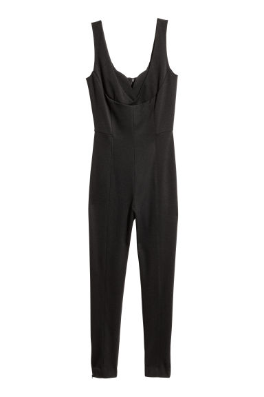 Jumpsuit - Black -  | H&M