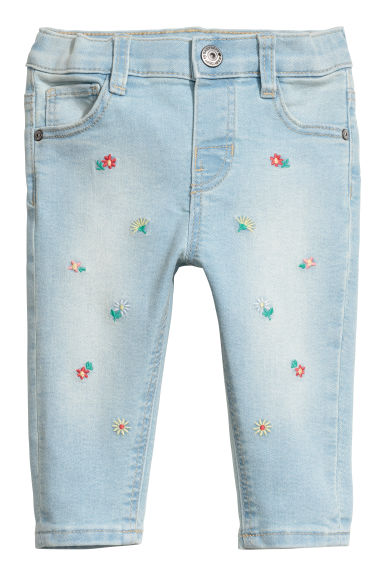 Relaxed Fit Jeans - Bleu denim clair - ENFANT | H&M CH
