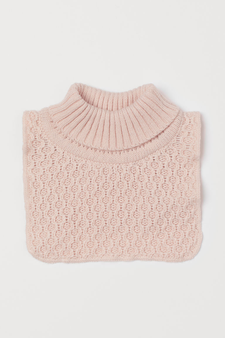 Knit Turtleneck Collar
